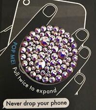 New Black Popsockets© AB Swarovski© Crystal Bling Iphone PopSocket™ Clear LG