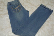 Red Camel Womens Skinny Jeans Sz 3 Flare Cotton Blue