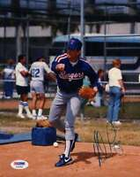 Nolan Ryan Psa/dna Coa Hand Signed 8x10 Photo Authentic Autograph