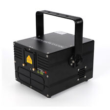 500mW RGB DMX ILDA Full Color Stage Animation Grafik Laser + 20KPPS Galvo-System