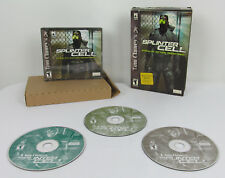 Tom Clancy's Splinter Cell stealth action game redefined w/ Box (PC CDROM, 2002)
