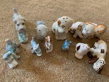 11 Ceramic Dog Figurines