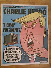 DONALD TRUMP!!! CHARLIE HEBDO 1247 rare - 15.06.2016