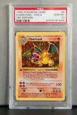 Charizard Base Set 2 Pokemon Card 4/130 PL/LP Rare Holo 1st  Unlimited Edition