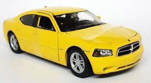 Nex Models 1/24 Scale 22476S Dodge Charger R/T Yellow Diecast model car FAULTY