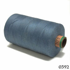 Amann 100% Polyester Core-Spun Sewing Thread Sabac 80 1000M Color 392 Steel Blue