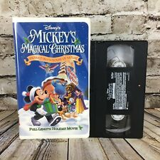 Disney's Mickey's Magical Christmas Snowed In At The House Of Mouse VHS Tape