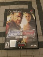 WWE SmackDown vs. Raw 2009 Featuring ECW Sony PlayStation 2 Complete PS2