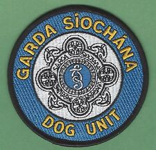 GARDA SIOCHANA IRELAND POLICE K-9 DOG UNIT PATCH