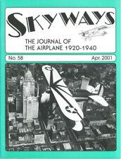 SKYWAYS MAGAZINE 58 BOEING P-12E_FIAT A.S._WILEY POST_DOUGLAS XO-31 & YO-31_AERO