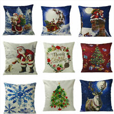 Lovely Cotton Linen Throw Pillow Case Cushion Cover Xmas Party Chair Sofa Gifts