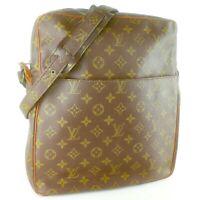 LOUIS VUITTON MARCEAU Shoulder Bag Purse Monogram No.70 Brown JUNK