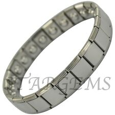 MAGNETIC BRACELET ADJUSTABLE ARTHRITIS BANGLE PAIN RELIEF HEALTH THERAPY STRONG