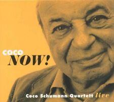 COCO QUARTETT SCHUMANN - COCO NOW! (LIVE)  CD NEUF