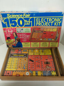 Vintage Tandy Radio Shack Science Fair 150 in 1 Electronic Project Kit INCOMPLET