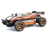 RC Truggy Fierce 1:18 4WD proportionales Gas inkl Akku und Ladegerät orange
