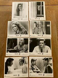 MALICE 1993 Alec Baldwin , Nicole Kidman - set of duplicate b&w stills