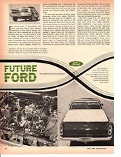 1966 FORD RANCHERO 427 ~ ORIGINAL 3-PAGE ARTICLE AD