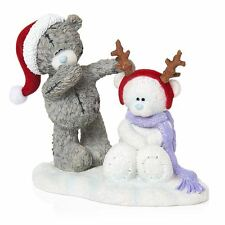 Me to You Making Friends Figurine Christmas Snow Bear Tatty Teddy Bear