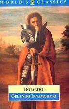 Orlando Innamorato (The World's Classics), Boiardo, Matteo Maria, Acceptable Boo