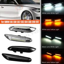 2X Side Marker Repeater Indicator LED Lights For BMW E46 E60 E82 E88 E90 E92 AU