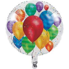 Balloon Blast Birthday Party Metallic Foil 18""