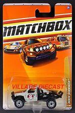 2009 Matchbox #76 Rock Shocker™ MATTE GREY/2010 CARD/MOC