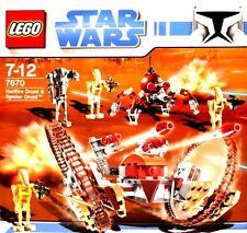 Lego-Star Wars 7670-Hailfire Droid & spider droid (' 08) - nuevo