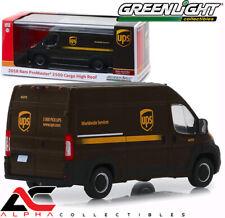 GREENLIGHT 86156 1:43 2018 RAM 2500 CARGO VAN UPS UNITED PARCEL SERVICES