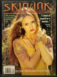 Skin & Ink The Tattoo Magazine Issue Number No # 18 January 1996