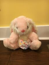 Vintage Cuddle Wit  Pink Bunny Stuffed Plush 10""
