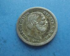 Netherlands, 5 Cents 1850 (Silver), Great Condition.