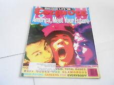 APRIL 2002 ESQUIRE mens fashion magazine MEET YOUR FUTURE