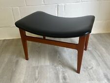 More details for danish midcentury finn juhl footstool model fd136 (delivery available)