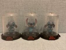 Stitch Disney Domes Domez Zag Toys Collectibles 2x Sad/sorry 1x Angry Stitch