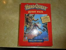 HeroQuest KELLAR'S KEEP Expansion*100% COMPLETE*NEVER USED*UNPLAYED*UNPUNCHED*