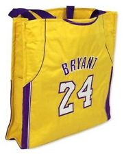 Kobe Bryant Los Angeles Lakers NBA #24 Jersey Tote Bag by Forever Collectibles