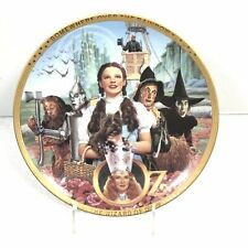 Wizard Of Oz 50th Anniversary Plate Movie Memorabilia Hamilton Collection 0264D