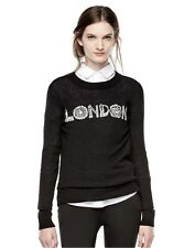 New THAKOON for DesigNation Size: SMALL Royal LONDON Pullover Sweater. Свитер