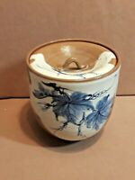"""Vintage JAPANESE STUDIO ART POTTERY LIDDED/GINGER JAR SIGNED 5 3/4"""" Hand Painted"""