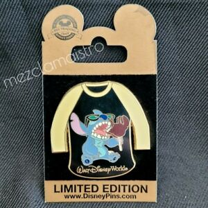 WDW Gold Card Stitch with Ice Cream T-shirt Disney Pin LE 1000