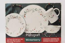 Winterberry By Pfaltzgraff 16 piece Dinnerware Set Service for 4 NEW