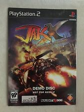 New! Jak X Combat Racing Demo Disc PS2 New / Sealed