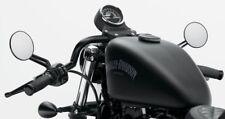 "HARLEY DAVIDSON HD XL SPORTSTER 1"" BLACK CAFE RACER CLUBMAN HANDLEBARS BARS"