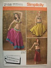 Dancer Costumes size 6 to 12 sewing pattern Simplicity 2158 See Full Listing