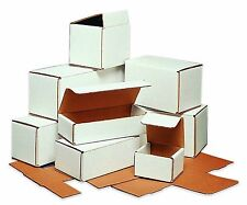 50-10x5X2 White Corrugated Carton Cardboard Packaging Shipping Mailing Box Boxes
