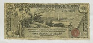 1896 $1 LARGE SIZE SILVER CERTIFICATE EDUCATIONAL SERIES NOTE