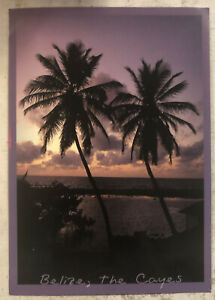 Tourist Postcard ~ Belize, The Cayes ~ Tobacco Cayes