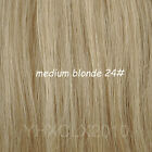 "Great One Piece 5Clips in 100% Remy Women Human Hair Extensions 18""22""24""26"" 90g"