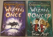 The Wizards of Once (and Twice Magic) by Cressida Cowell Paperback
